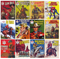 Wild West Picture Library Comics On PC DVD Rom (CBR/CBZ) 70 issues + 27 others