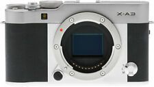 Fujifilm X-A3 Mirrorless Digital Camera Body Only (Silver) (Kit Box)
