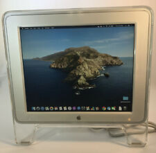 Apple 17 Inch Studio Display Monitor Flat LCD White/Clear M7649 Vintage 2001