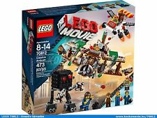 The Lego Movie 70812 CREATIVE AMBUSH Executive Kebab Bob Sudds Backwash NISB