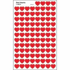 Red Hearts superShapes Stickers Trend Enterprises Inc. T-46072