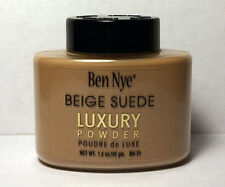 Ben Nye Beige Suede Bella Luxury Powder Authentic Translucent Face Makeup 1.5 oz