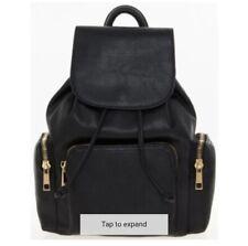 100% Genuine Aldo Black Leather Backpack