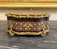 Coffret à bijoux signé Tahan Paris XIXeme
