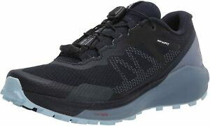 Salomon Womens Sense Ride 3 Trail Running Shoes - Navy