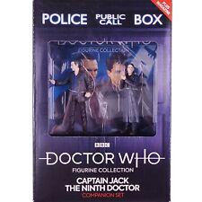 Doctor Who 9th Ninth Doctor CAPTAIN JACK Eaglemoss Figurine Companion Set #5
