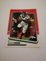 Demaryius Thomas Denver Broncos 2018 Panini Score Red #98 NFL Trading Card