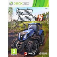 Farming Simulator 15 2015 XBOX 360 PAL NEW UK Stock- 1st Class Recorded Delivery