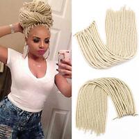 6 pack Havana Mambo Faux Locs Dreadlocks Twist Crochet Braid Synthetic Hair 20''