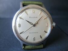 Vintage Bulova Automatic All Stainless Steel Case Cal.11AFAC
