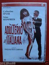 film catherine spaak nino manfredi adulterio all'italiana lino banfi dvd nuovo v