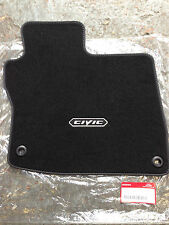 GENUINE HONDA CIVIC DRIVERS FLOOR MAT 2008-2011 BLACK
