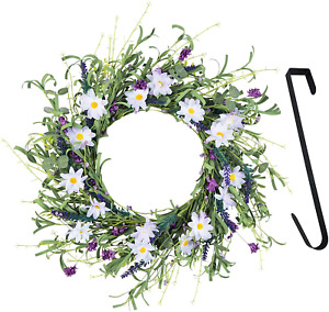 Spring And Summer Door Wreath 20 Inches Floral Wreath Beautiful For All Season