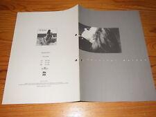 JENNIFER WARNES - THE HUNTER / BMG PROMO-HEFT (DIN-A-4) 1992