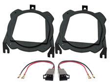 Lautsprecherringe 130mm+Adapterkabel für Opel Corsa B+C seitliche Heckablage