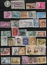 India 1905 - 66 Scott's#289 - U13 (35 Stamps) Cat$20+ 3 Views