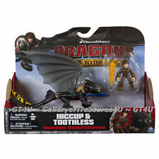 How to Train Your Dragon Riders Race to the Edge HICCUP & TOOTHLESS Flame Fire