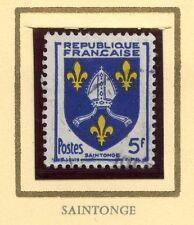 STAMP / TIMBRE FRANCE OBLITERE N° 1005 BLASON SAINTONGE