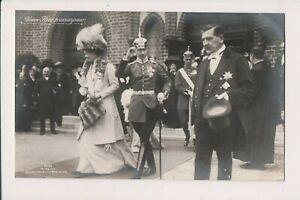 Vintage Carte postale Couronne Prince Wilhelm Et Princesse Cecilie allemagne