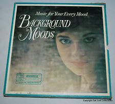 Reader's Digest Music For Your Every Mood Background Moods RD26-K 10 LP RECORDS