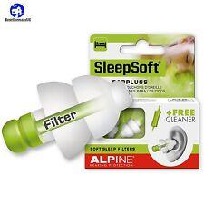 Alpine SleepSoft Ear Plugs Hearing Protection Improve Sleep Issue Filter Noise