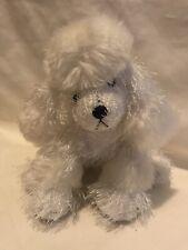 White Poodle Puppy Dog Ganz Webkinz Stuffed Animal Plush