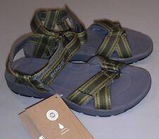 NWT Bogs Boys Kids Youth Waterproof Rio Stripes Sport Sandals Green Multi US 2
