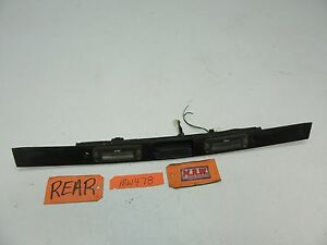SAAB 9-3 REAR HATCH OUTER DOOR HANDLE PANEL LICENSE PLATE LIGHT BACK WIRE OEM