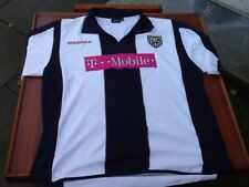 WEST BROMWICH ALBION T-MOBILE ORIGINAL FOOTBALL SHIRT SIZE XL MENS USED