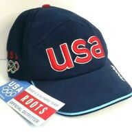 Official 2002 USA Winter Olympic Games Team Baseball Cap Roots New With Tags