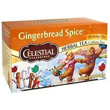Celestial Seasonings Holiday Herbal Tea, Gingerbread Spice