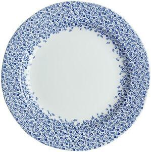 Burleigh dark blue Felicity dinner plate 26.6cm accent