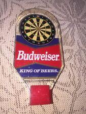 Vintage Budweiser King Of Beers Tap Handle Rare Dart Board knob