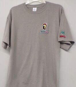 XFL Football Memphis Maniax Embroidered T-Shirt S-6XL, LT-4XLT NFL New