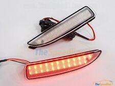 14 15 16 Mazda3 CLEAR LED Reflector Rear Bumper Light Mazda 3 BM 2013 2014 2015