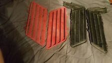 Z34 Lumina Hood Louvers - Complete - Red - 91 92 93 94 - Vents
