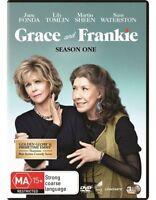 Grace and Frankie Season 1 One DVD Regions 2,4,5 NEW Jane Fonda Lily Tomlin