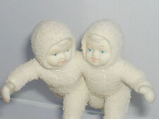 SNOWBABIES, Snowbabies, ICE SKATERS, So Lovely, 2008. Very Rare.