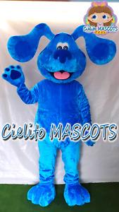 BLUES CLUES Mascot Costume cosplay botarga halloween cartoon Cielito MASCOTS