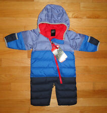 The North Face Baby Bunting Snowsuit Goose Down Lil Snuggler 0-3 Months Infant