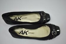 ANNE KLEIN SPORT BLACK SHOES ZS 6M NEW IN BOX
