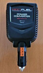 SCHUMACHER RED FUEL 140W DC TO AC  POWER CONNVERTER MODEL RF7101
