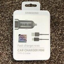 Genuine Samsung Fast USB Car Charger Type-C USB for Galaxy S9 S9+ S8 Plus Note 8