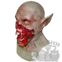 Latex Halloween Horror Vampire Demon Mask with Chest Fancy Dress Costumes Mask