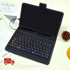 """7"""" PU Leather Keyboard Touchpad with Case for Android Windows Tablet (US Seller)"""