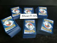 BEST DEAL! Lot of 35 REAL Pokemon Cards Common/Uncommon Mixed Pack MINT CONDITIO