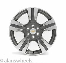 "NEW Chevy Colorado Z71 Factory OEM 18"" Machined Grey Wheels Rims Free Ship 5673"
