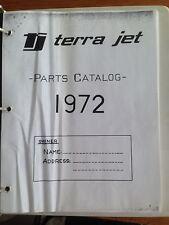 TERRA JET PARTS CATALOG & OWNERS MANUAL TERRAJET ATV