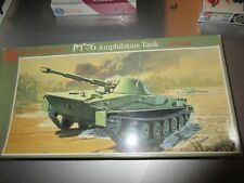 GLENCOE 1/32nd SCALE RUSSIAN PT-76 AMPHIBIOUS TANK KIT (# 06401) SEALED