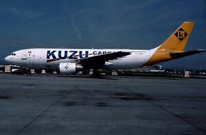 Aircraft Slide KUZU Cargo A300B4-203F TC-ABK